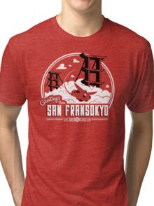 Greetings from San Fransokyo Tri-blend T-Shirt