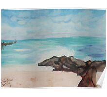 Boynton Inlet Beach Poster