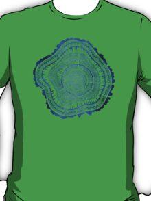 Navy Tree Rings T-Shirt