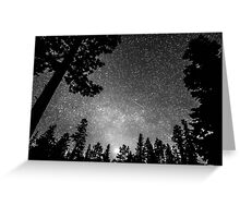 Dark Stellar Universe Greeting Card