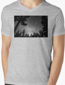 Dark Stellar Universe Mens V-Neck T-Shirt