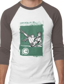 CyberGirl Men's Baseball ¾ T-Shirt