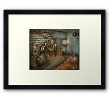 Trade - Electrician - The Electrical Engineering course - 1915 Framed Print