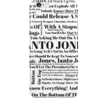 Ianto Jones Quotes iPhone Case/Skin