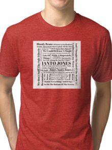 Ianto Jones Quotes Tri-blend T-Shirt