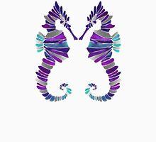 Seahorse – Purple & Silver Unisex T-Shirt
