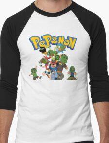 Pepemon Men's Baseball ¾ T-Shirt
