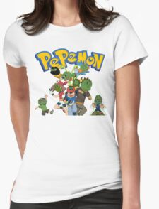 Pepemon Womens Fitted T-Shirt