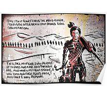 Paul Atreides from Dune Poster