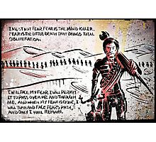 Paul Atreides from Dune Photographic Print