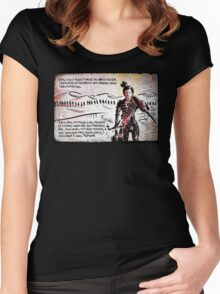 Paul Atreides from Dune Women's Fitted Scoop T-Shirt