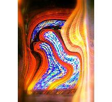 Curtain of light Photographic Print