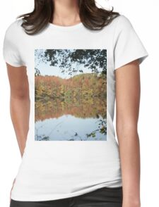 Fall Refractions Womens Fitted T-Shirt