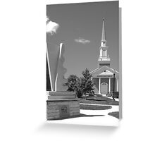Central Church of Christ~McMinnville Tennessee Greeting Card