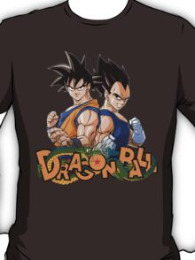 Goku and Vegeta, Brother in Arms T-Shirt