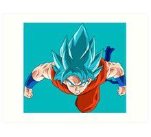 Goku Ssjgssj Art Print