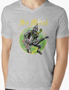 So Metal Mens V-Neck T-Shirt
