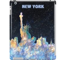 New York - Liberty and Skyline  iPad Case/Skin
