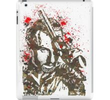 Rick Grimes The Walking Dead Watercolor and Ink iPad Case/Skin