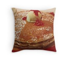 Pancakes! Throw Pillow