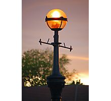 Light At Sunset Photographic Print