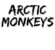 Arctic Monkeys Horizontal by bennettart