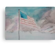 Storm over Patriotism Canvas Print