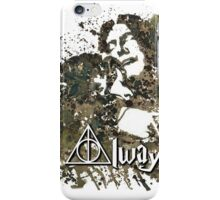 HARRY POTTER SNAPE AND LILY ALWAYS iPhone Case/Skin