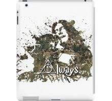 HARRY POTTER SNAPE AND LILY ALWAYS iPad Case/Skin