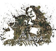 HARRY POTTER SNAPE AND LILY ALWAYS by LouLouD123