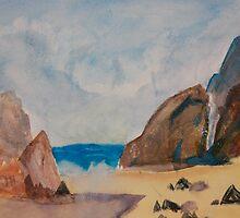 Study of Beach by Cody Higdem