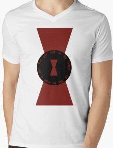 Red in my Ledger Mens V-Neck T-Shirt