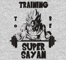 Training to be Super Sayan by pesdav