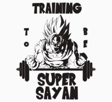 Training to be Super Sayan Kids Clothes