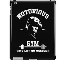 Notorious Gym - Mo Lift Mo Muscle Biggie Motivational Mashup iPad Case/Skin