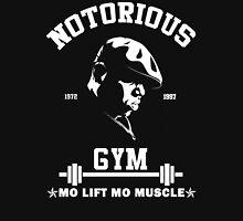 Notorious Gym - Mo Lift Mo Muscle Biggie Motivational Mashup Unisex T-Shirt