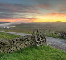 Lower Barden Reservoir by SteveMG