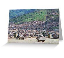 Classic Cusco Greeting Card