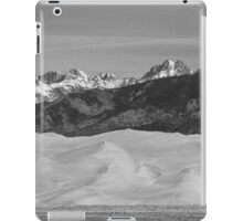 Great Sand Dunes National Park Panorama BW iPad Case/Skin