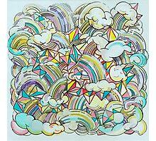 Rainbows & Unicorns Photographic Print