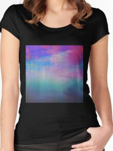 Sky Trails Women's Fitted Scoop T-Shirt