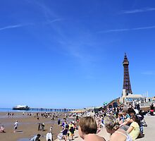 blackpool tower by button-moon