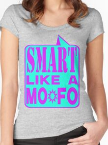SMART MOFO Women's Fitted Scoop T-Shirt