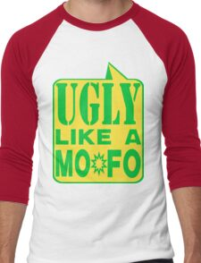UGLY MOFO Men's Baseball ¾ T-Shirt
