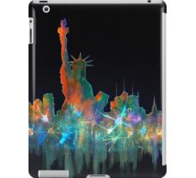 Liberty And New York Skyline iPad Case/Skin