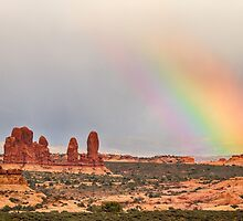 Intense Rainbow by Bo Insogna