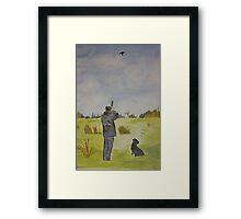 The Hunting Framed Print