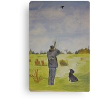 The Hunting Canvas Print