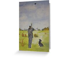 The Hunting Greeting Card