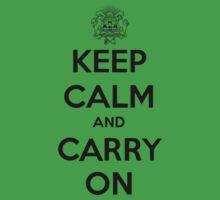 Keep Calm Carry On Calgary Black Kids Clothes